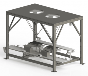 3D solid model rendering for high-speed packaging machine